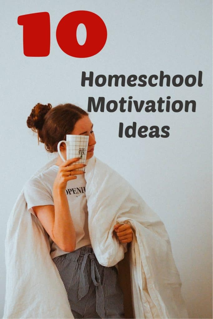 homeschool motivation, self care ideas