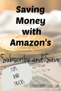 subscribe and save, money saving tips