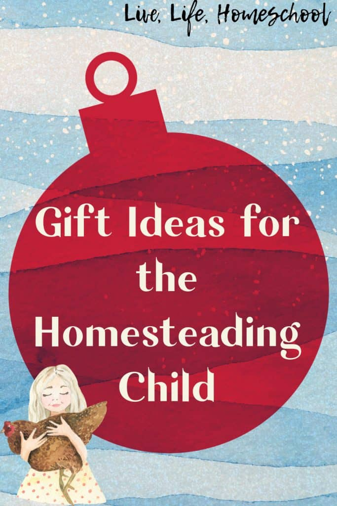 gift ideas for your homesteading child