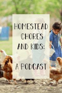 homestead chores