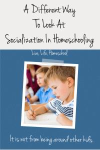 socialization in homeschooling
