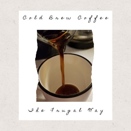 cold brew coffee hack
